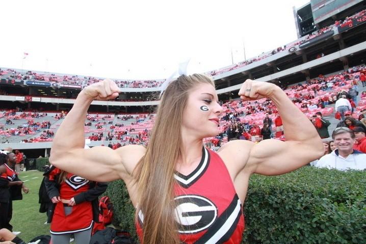 University of Georgia cheerleader Anna Watson