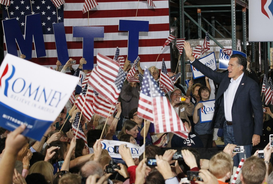 Mitt Romney campaigns Las Vegas