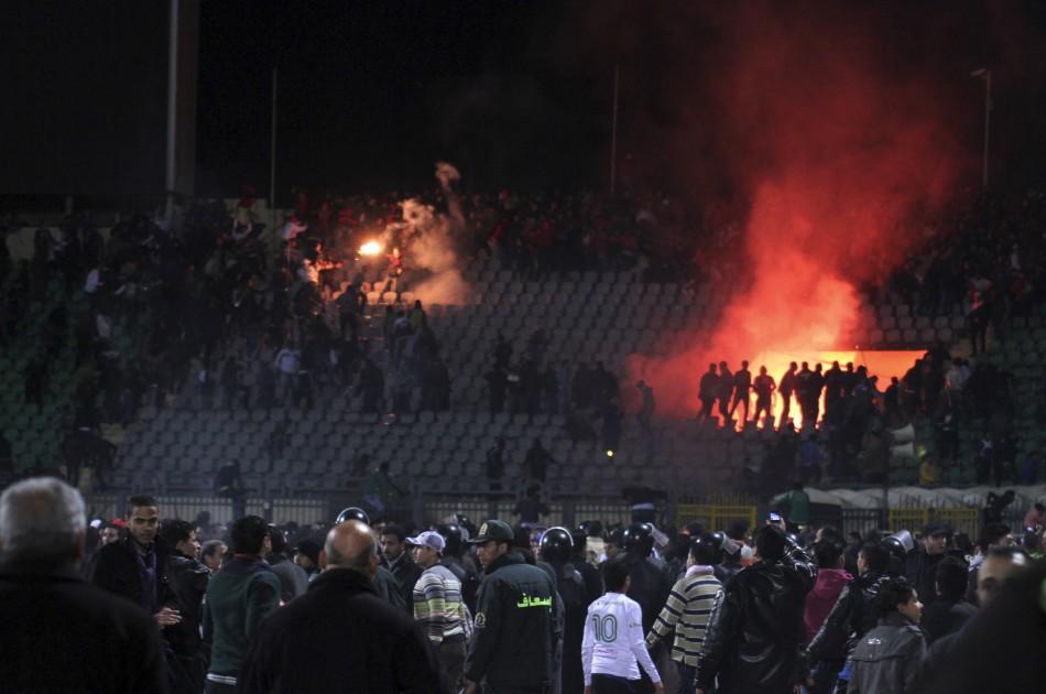 Egypt Football Violence