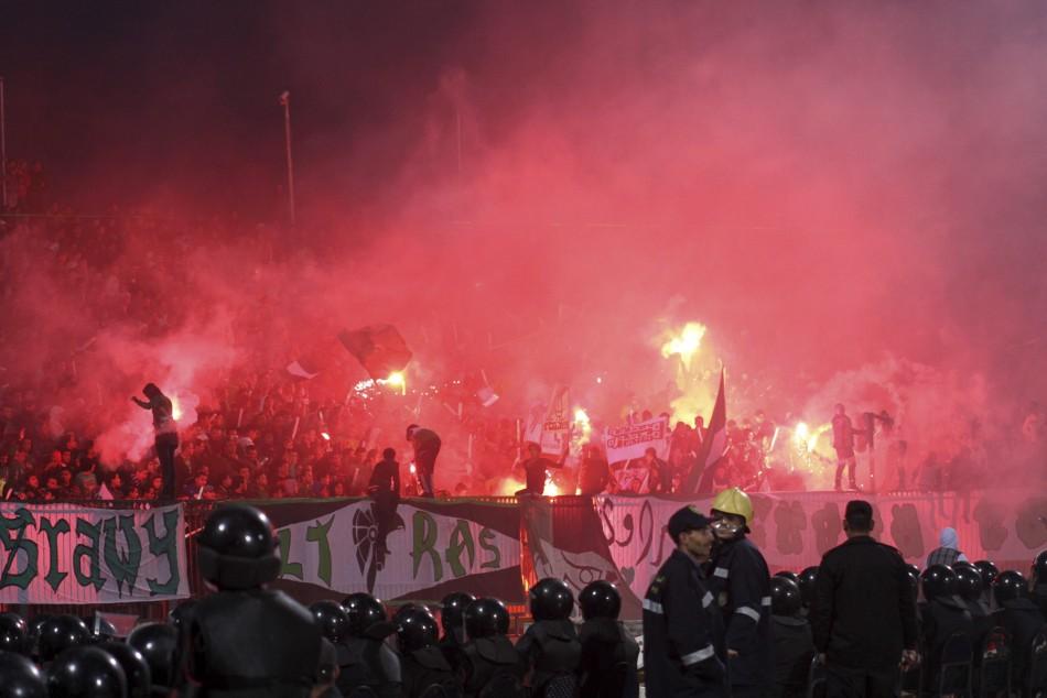 Soccer riot