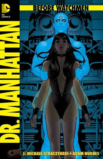 Cover of one of the Before Watchmen graphic novels (DC Comics)