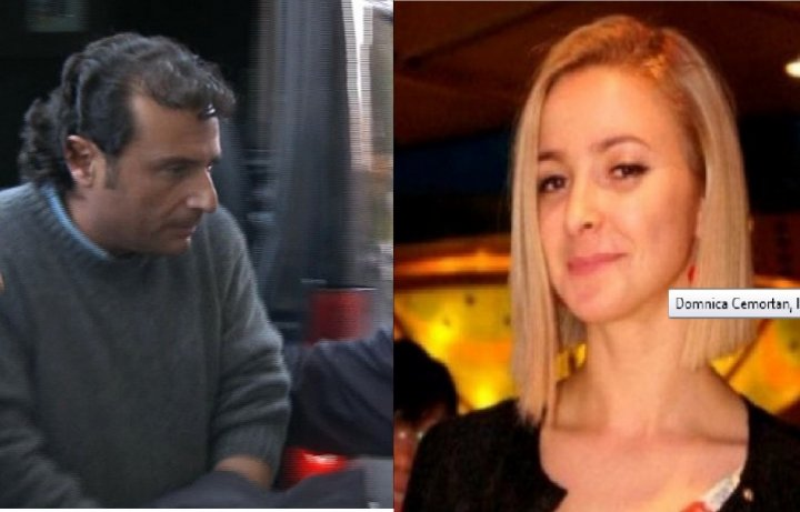 Captain Francesco Schettino and Moldovan Domnica Cemortan
