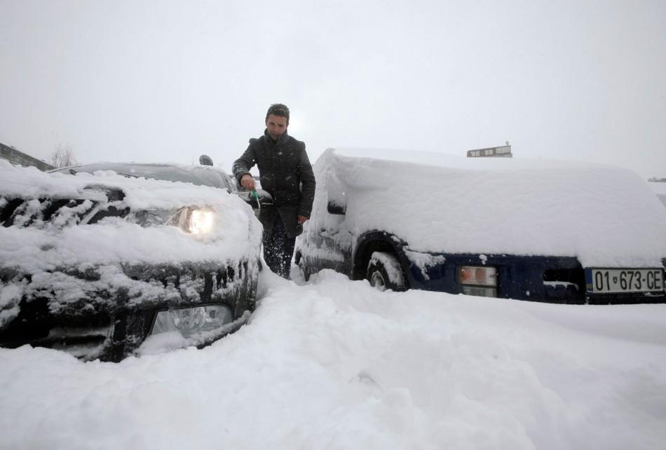 Europe's  Big Freeze
