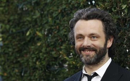 Cast member Michael Sheen poses at the premiere of ''Midnight in Paris'' at the Samuel Goldwyn Theatre in Beverly Hills, California