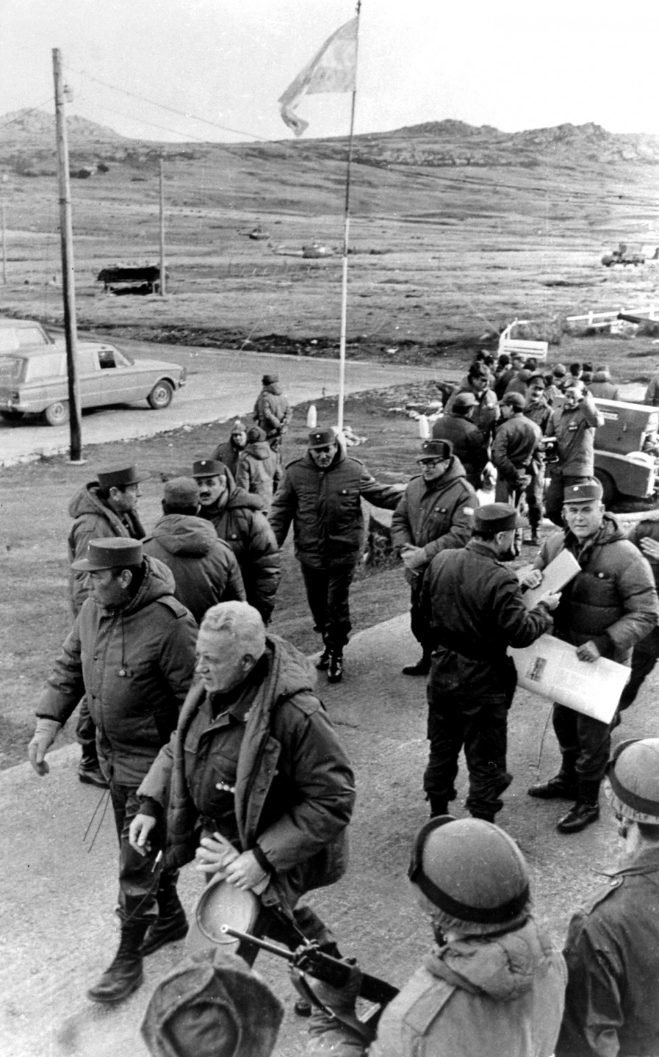 Historic Images of the Falklands War Depicting 30-Years of Long-Standing Dispute
