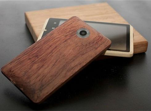 Bamboo smartphone