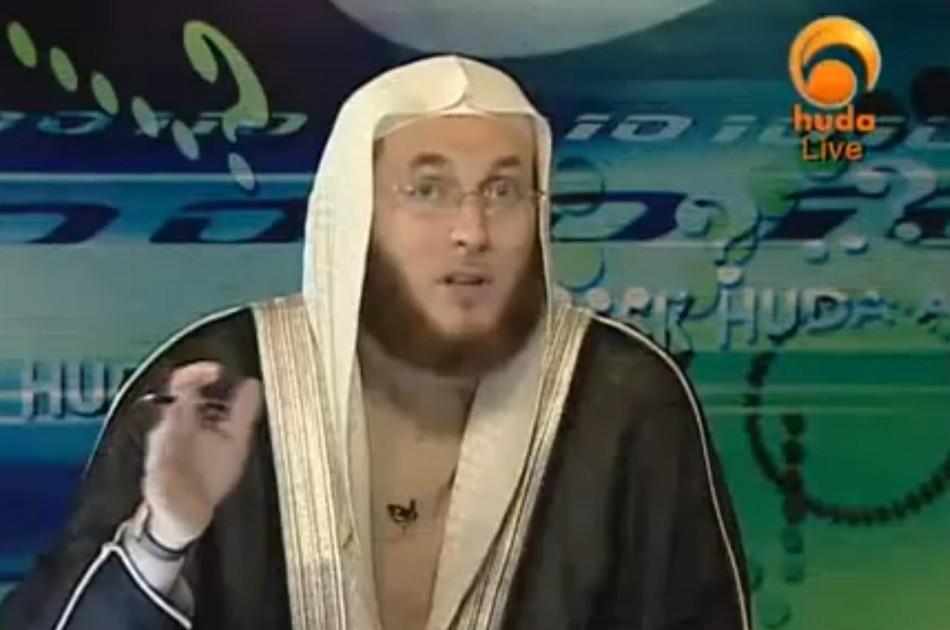 Dr Muhammad Salah gives out strange advice on Huda TV