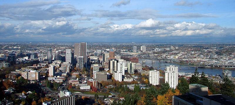 Portland, Oregon: population 583,776