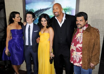 Stars at the Hollywood Premier of Journey 2
