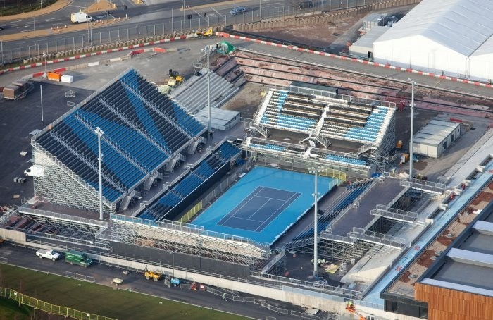 London 2012: Aerial Views of the Olympic Park Released