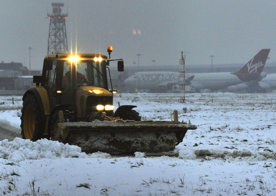 Heathrow Airport Facing the Brunt of UK Snow Storms