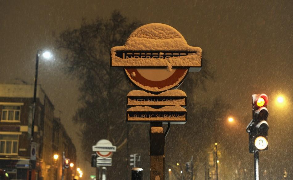 UK snowfall