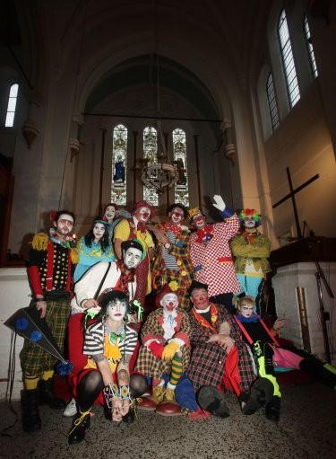 Clowns Gather for Grimaldi Memorial Service