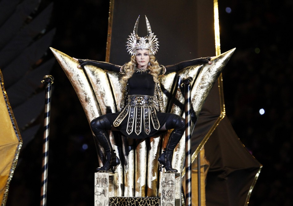 Super Bowl half time show- Madonna