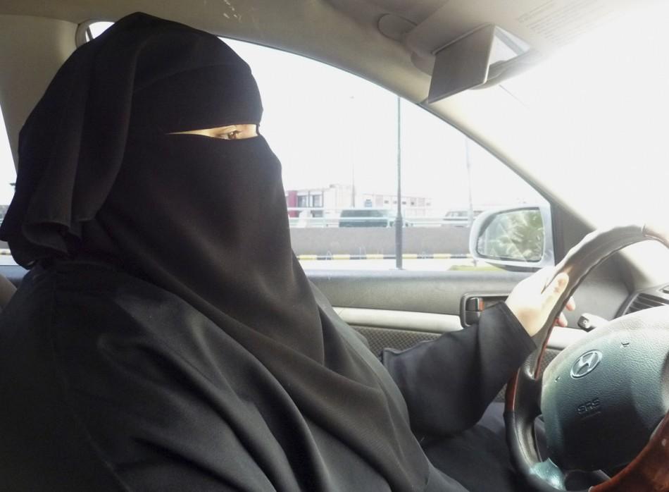 Woman driving in Saudi Arabia