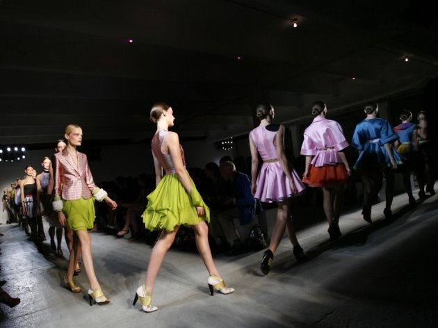 Jonathan Saunders' spring/summer 2009 collection on show in New York