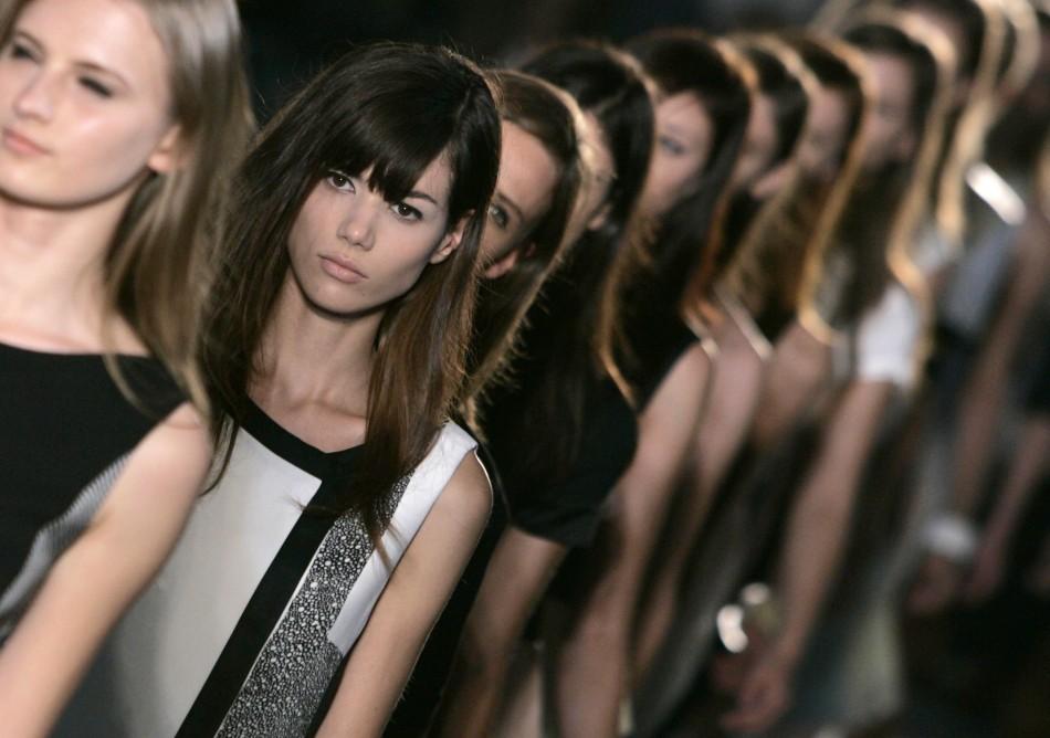 Jonathan Saunders collection 2008 London Fashion Week