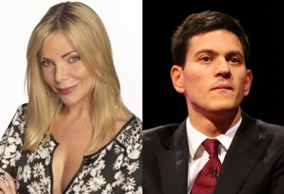 Ronnie Mitchell  David Miliband