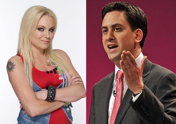 Roxy Mitchell & Ed Miliband