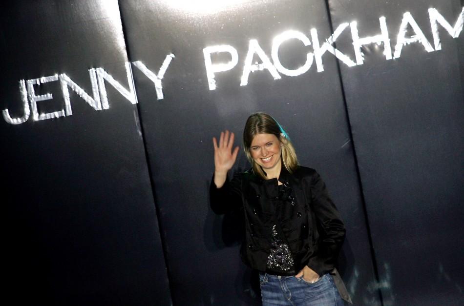 Fashion designer Jenny Packham