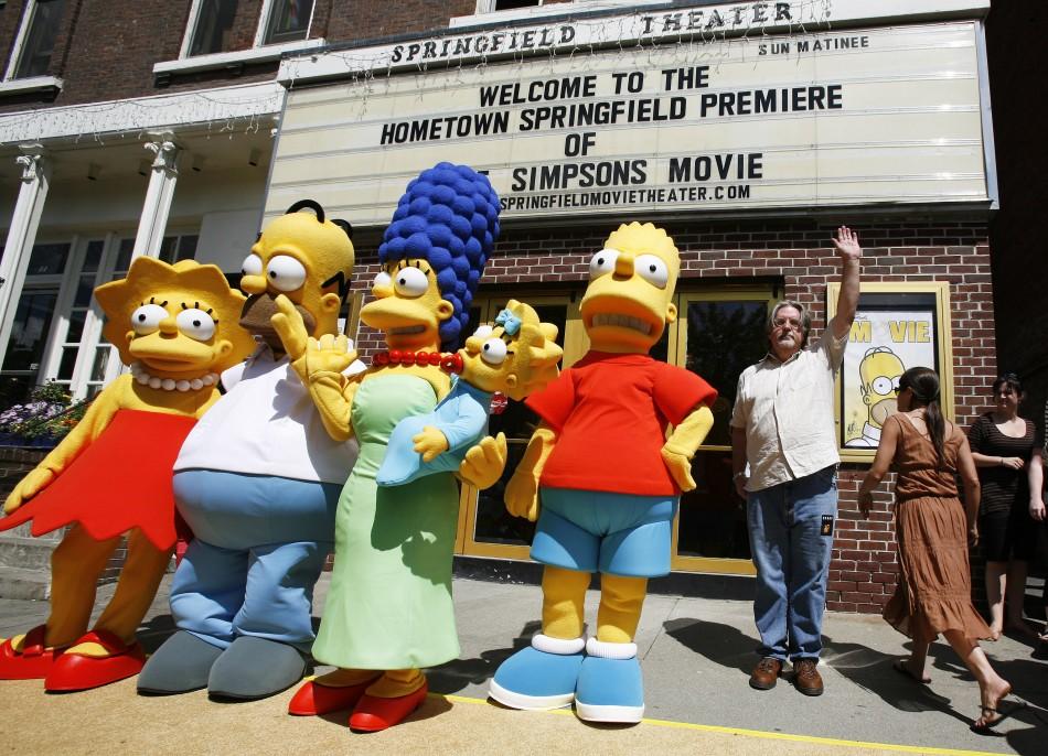 Iran Bans The Simpsons