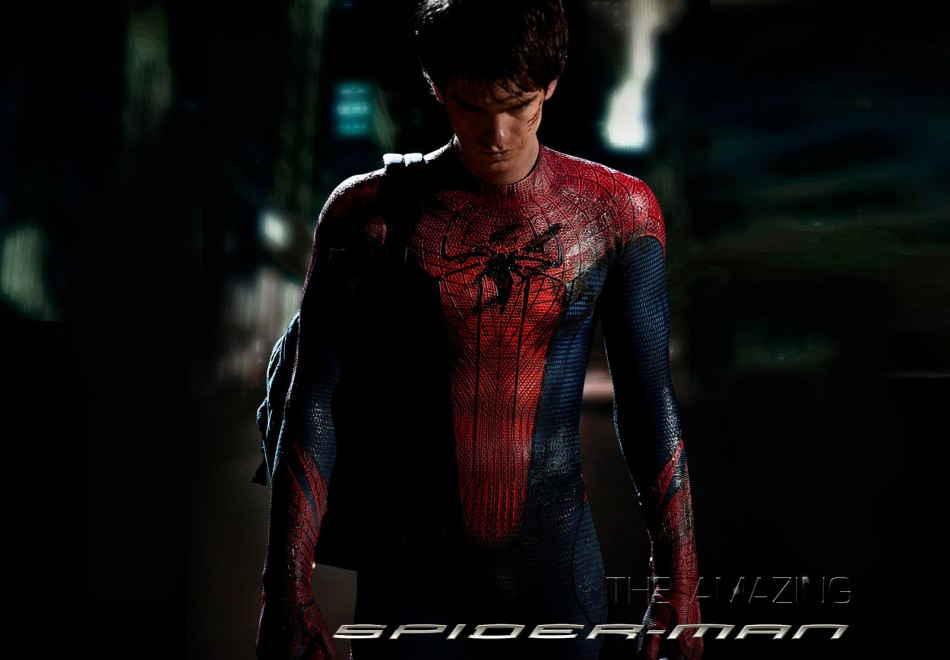 Andrew Garfield stars as Peter Parker in The Amazing Spider-Man