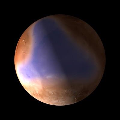 Ancient northern ocean on Mars
