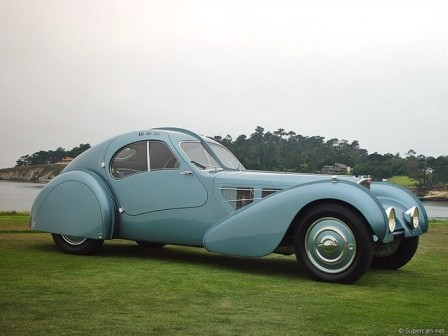 1. Bugatti Type 57C Atlantic (1939)