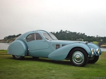 1. Bugatti Type 57C Atlantic 1939