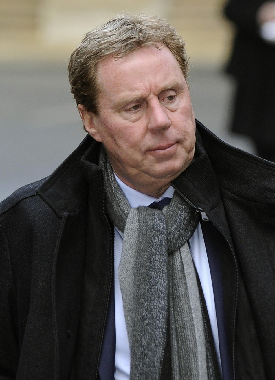 Harry Redknapp arrives at Southwark Crown Court for final day of tax evasion trial