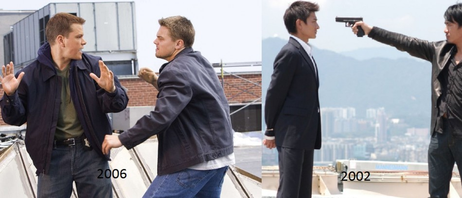 The Departed  / Infernal affairs