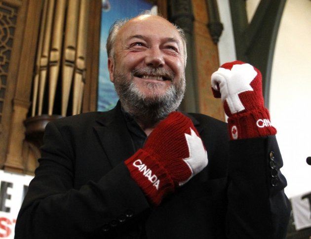 Former British MP George Galloway
