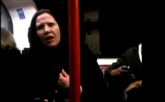 Jacqueline Woodhouse in her foul-mouthed tirade on London Underground's Central line