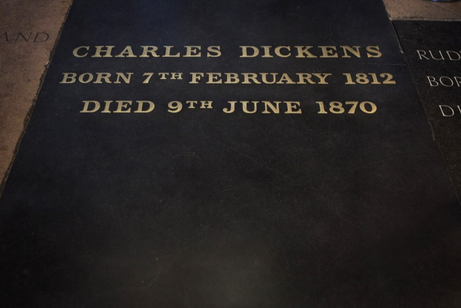 The Grave of Charles Dickens
