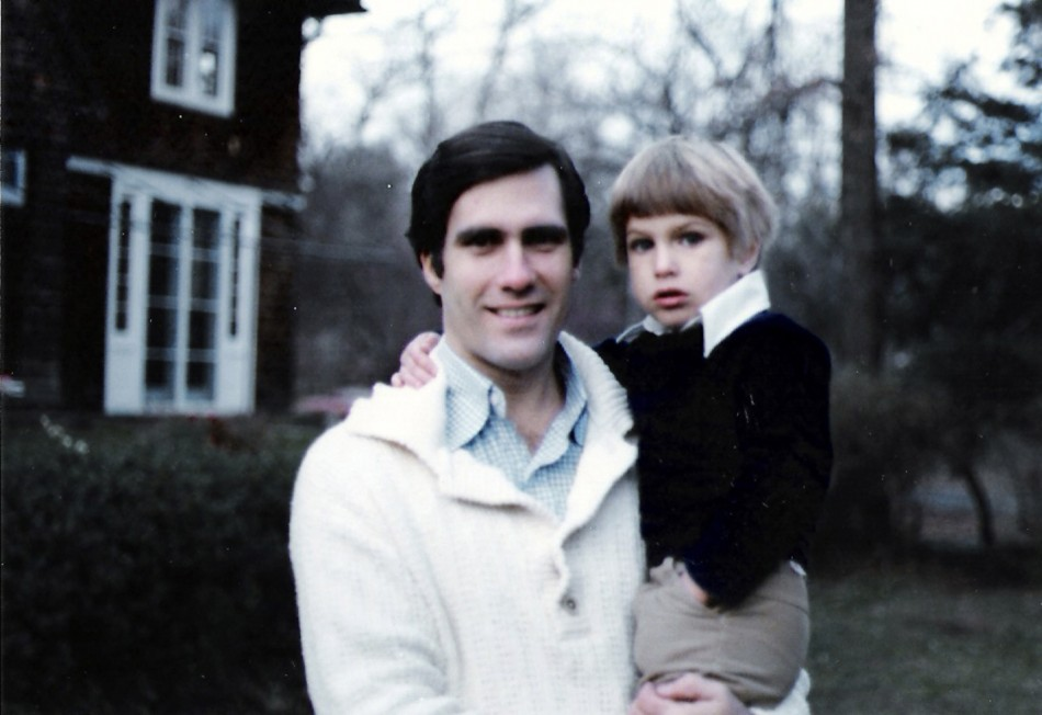 Handout photo of Mitt Romney and his son Josh
