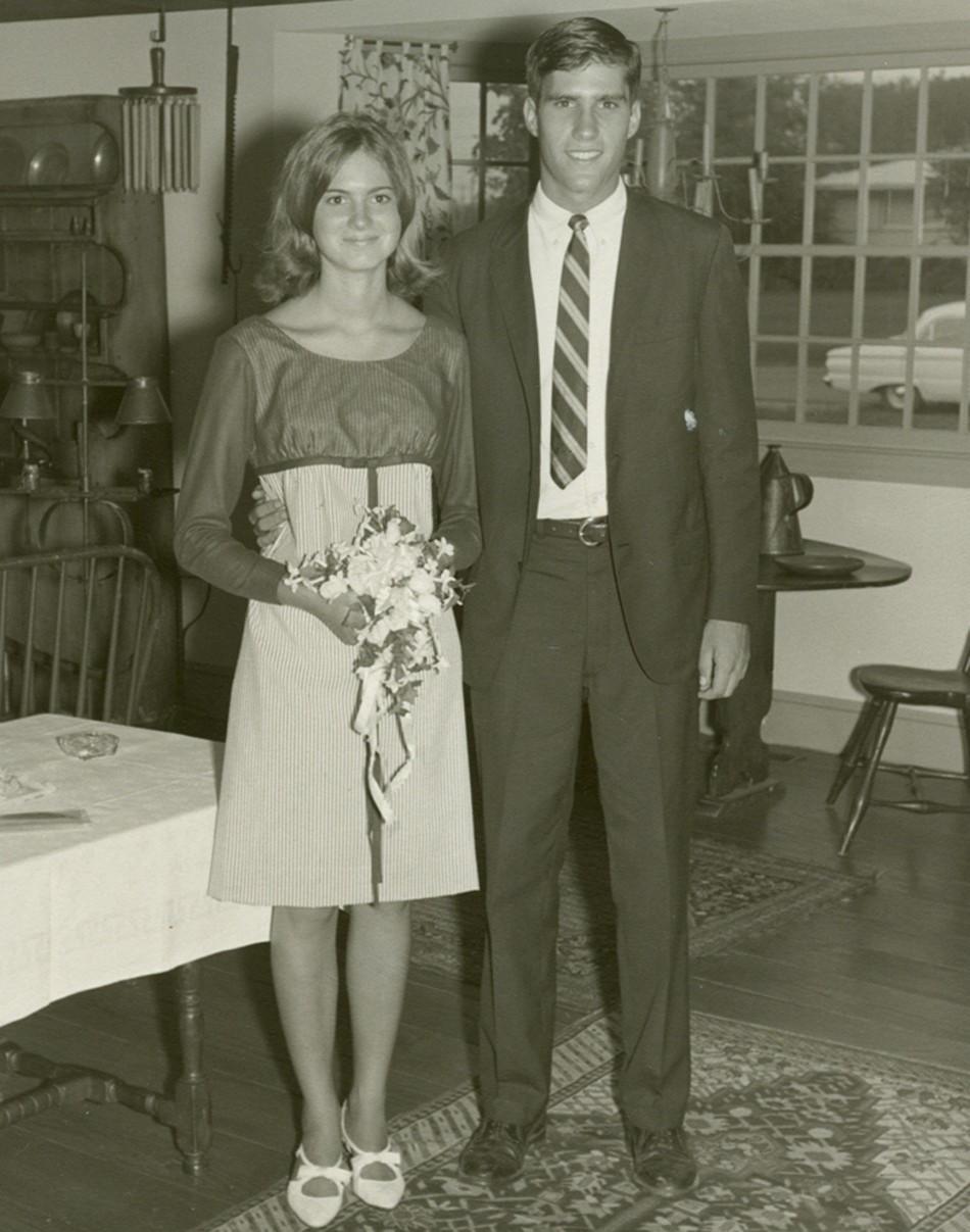 U.S. Republican presidential candidate and former Massachusetts Governor Romney is seen with his wife Ann in this undated handout photo released by the Romney campaign