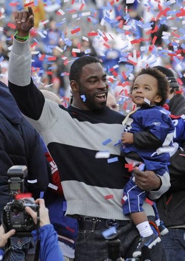 Super Bowl Giants Celebration Football