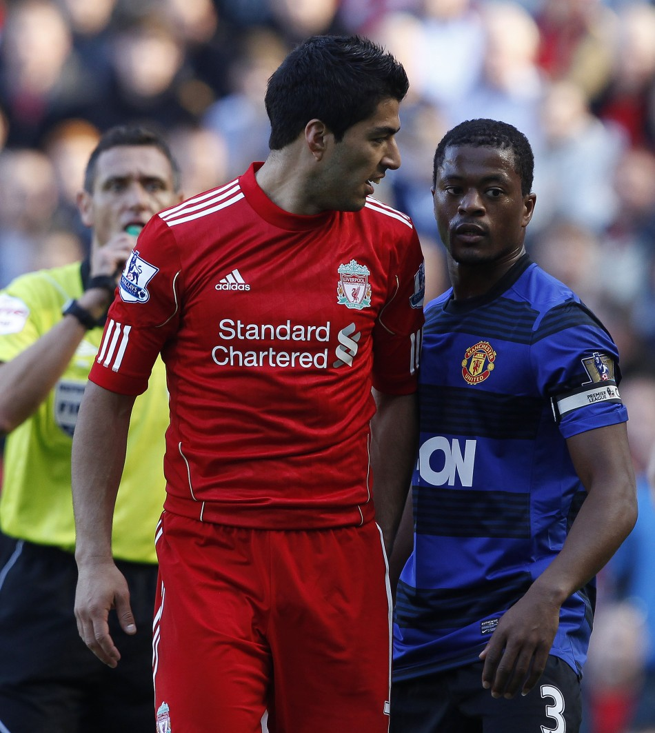 Suarez has issued a warning to Manchester United fans ahead of his reunion with Patrice Evra