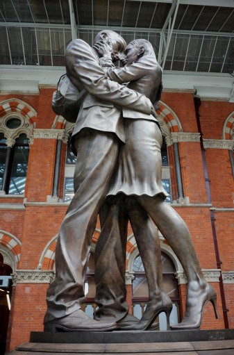 The Meeting Place, St. Pancras International, London
