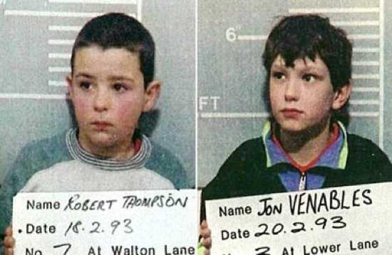 Robert Thompson and Jon Venables, 10