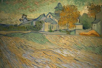 Vincent Van Goghs quotVue de de lasile et de la Chapelle de Saint-Remy