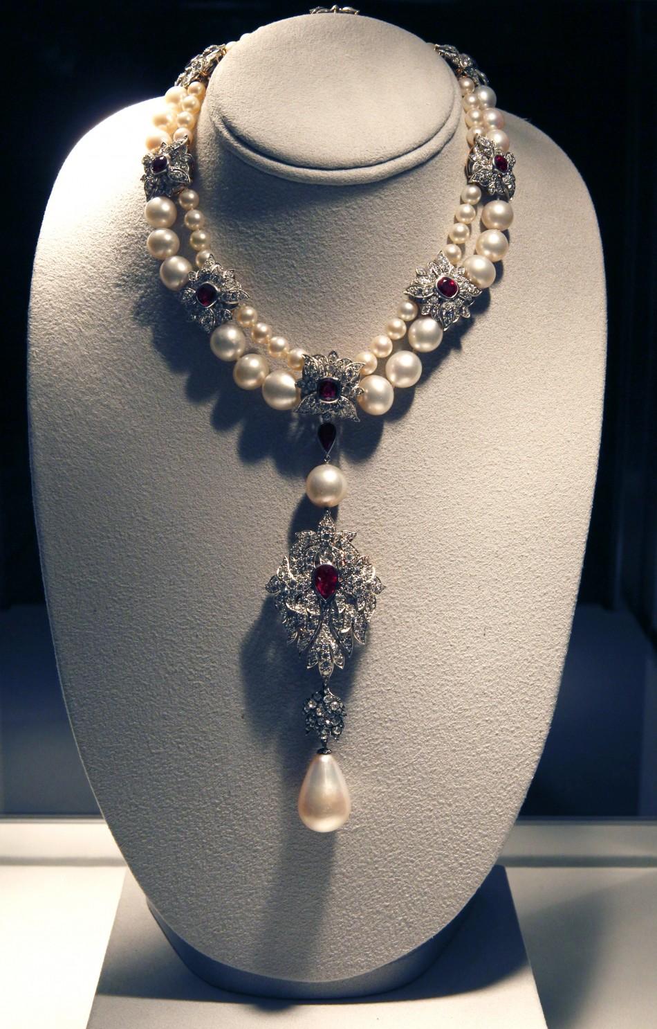 The legendary 16th century pearl, La Peregrina