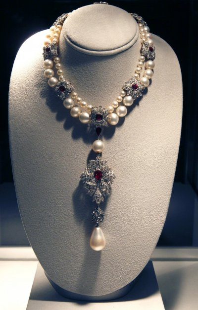 The legendary 16th century pearl, La Peregrina