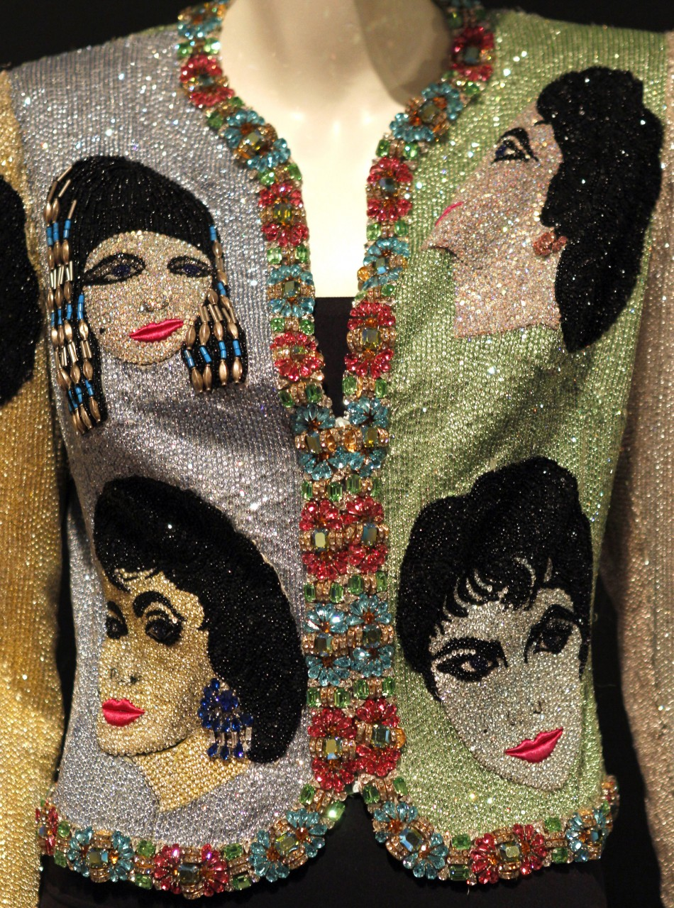 A Versace Beaded Evening Jacket