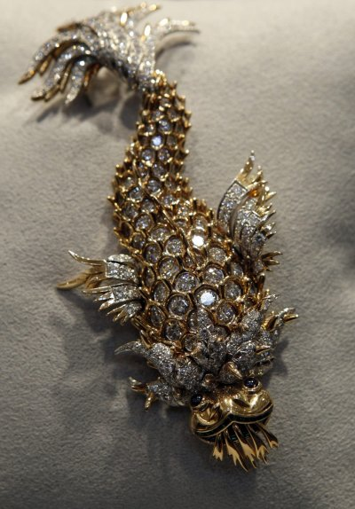 The Night of the Iguana Brooch