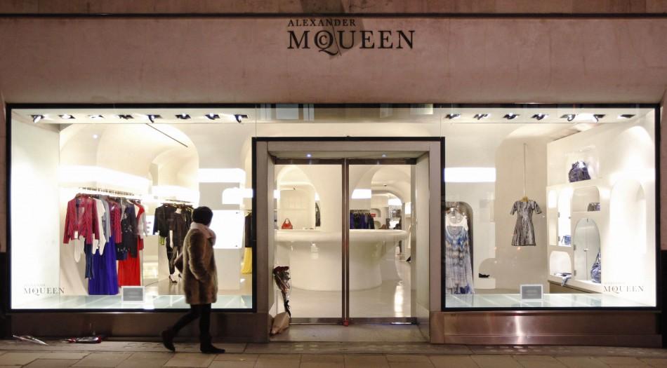 Alexander McQueen store bond st London