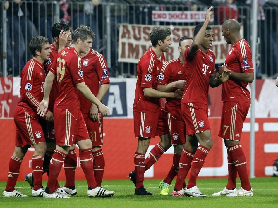 4.Bayern Munich €321.4m