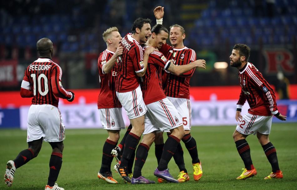7.AC Milan €235.1m