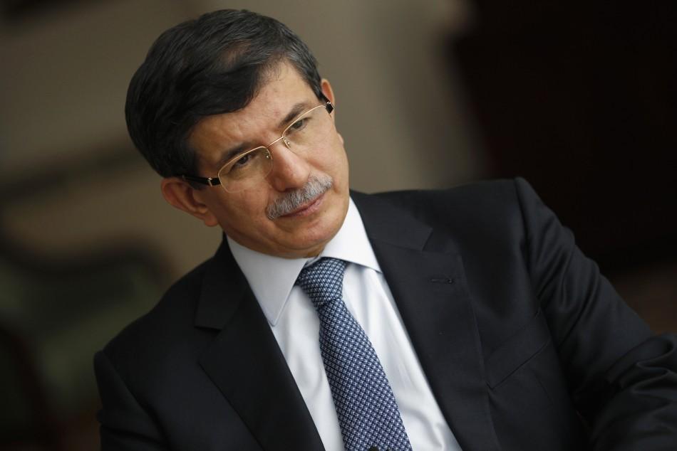 Turkish Foreign Minister Ahmet Davutoglu