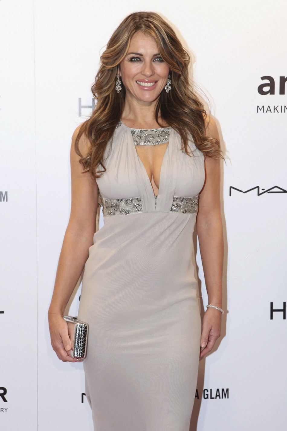 Actress and model Elizabeth Hurley